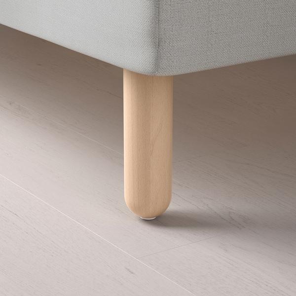 BÅTSFJORD Leg, birch, 20 cm