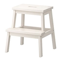 BEKVÄM step stool, white