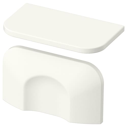 BERGHALLA handle white 56 mm 9 mm 32 mm 5 mm 32 mm 2 pieces