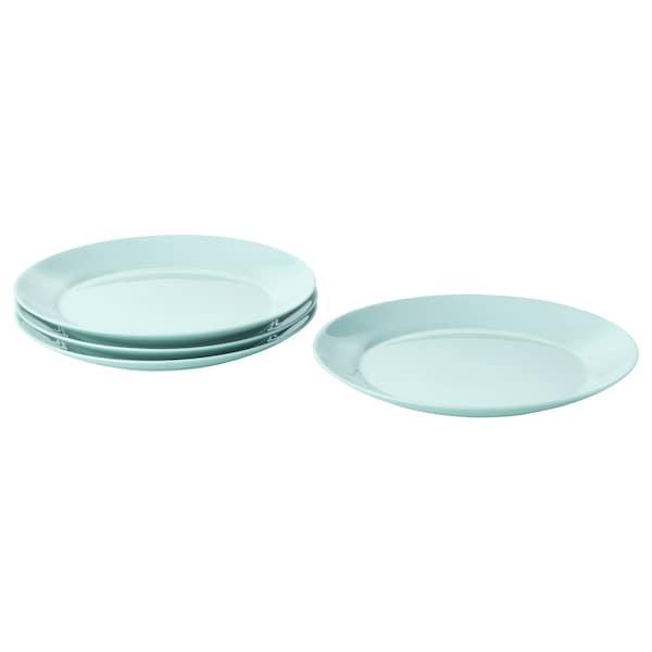 BESEGRA Side plate, light turquoise, 21 cm