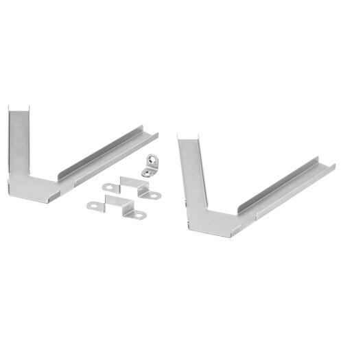 BILLY corner fittings galvanised 2 pieces