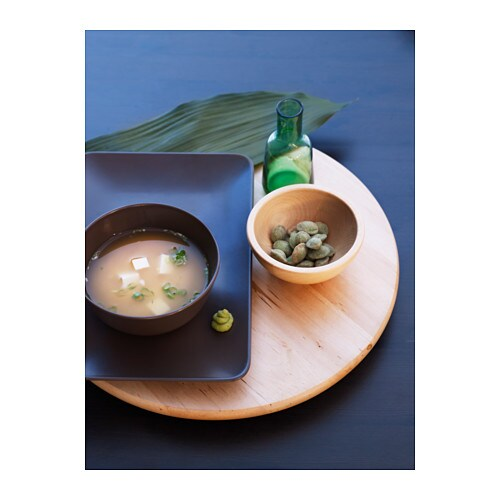 BLANDA MATT Serving bowl IKEA Made of bamboo, which is an easy-care and hardwearing natural material.