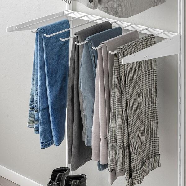 BOAXEL Trouser hanger, white, 60 cm