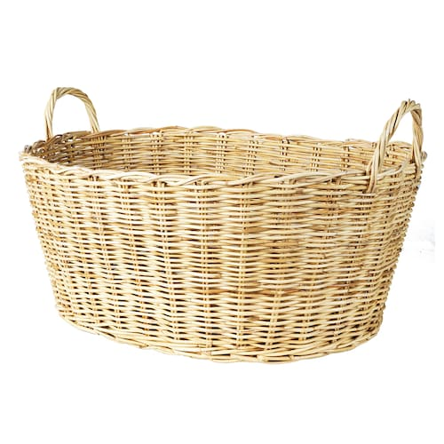 BORSTAD basket with handles 60 cm 47 cm 34 cm