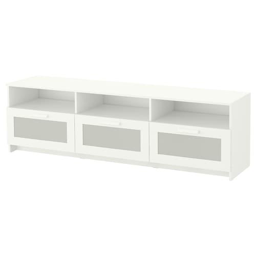 BRIMNES TV bench white 180 cm 41 cm 53 cm 30 kg