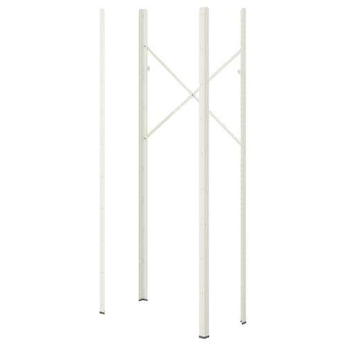 BROR post white 4 cm 190 cm 4 pieces