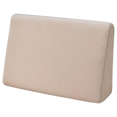 BRUMUNDDAL wedge cushion Hakebo beige 57 cm 38 cm