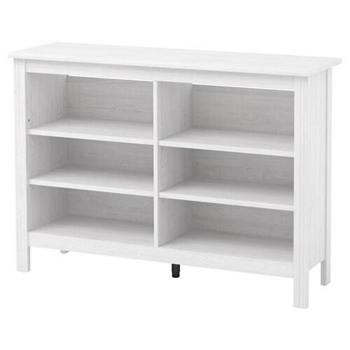 BRUSALI TV bench white 120 cm 36 cm 85 cm 25 kg 20 kg