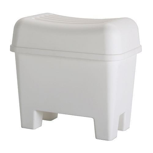 Ordinaire BURSJÖN Stool With Storage IKEA Vent Holes In The Bottom. Helps You  Organise Laundry,