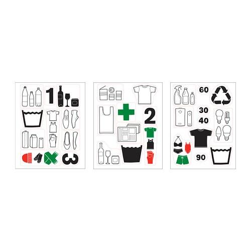DALLIDEN Decoration stickers  IKEA