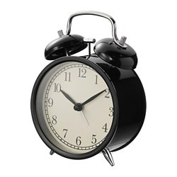 DEKAD alarm clock, black