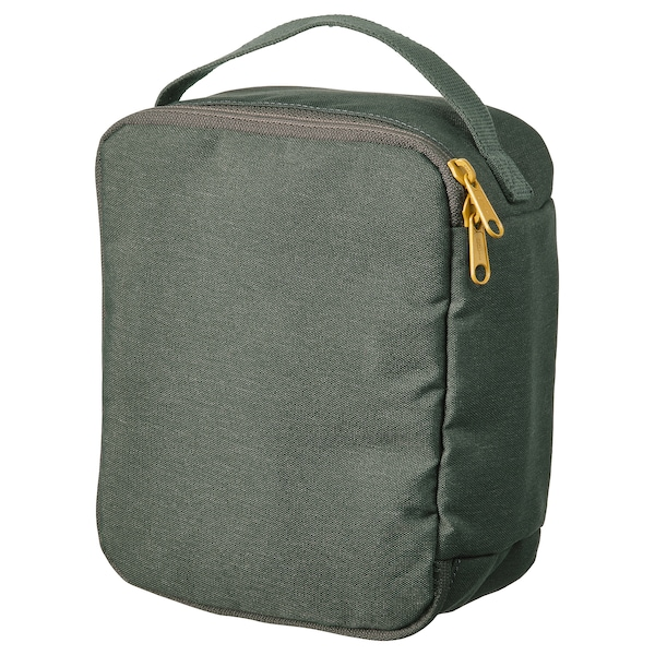 DRÖMSÄCK Toiletry bag, olive-green, 4 l