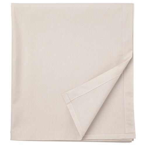 DVALA sheet beige 152 /inch² 260 cm 150 cm