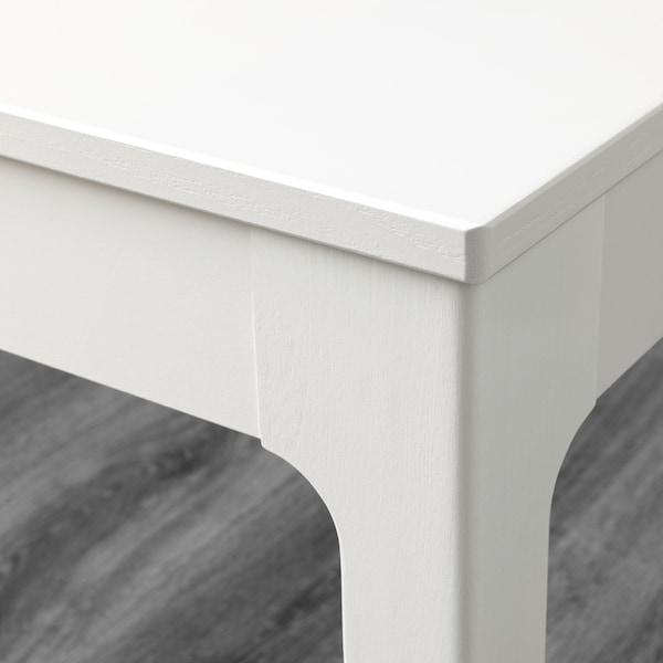 EKEDALEN Bench, white, 105x36 cm