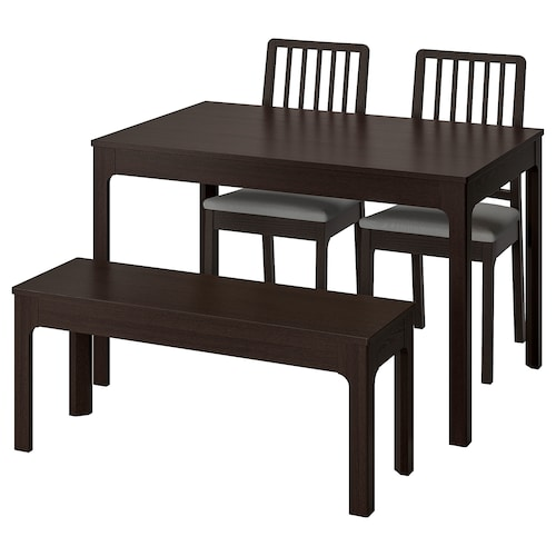 IKEA EKEDALEN / EKEDALEN Table with 2 chairs and bench