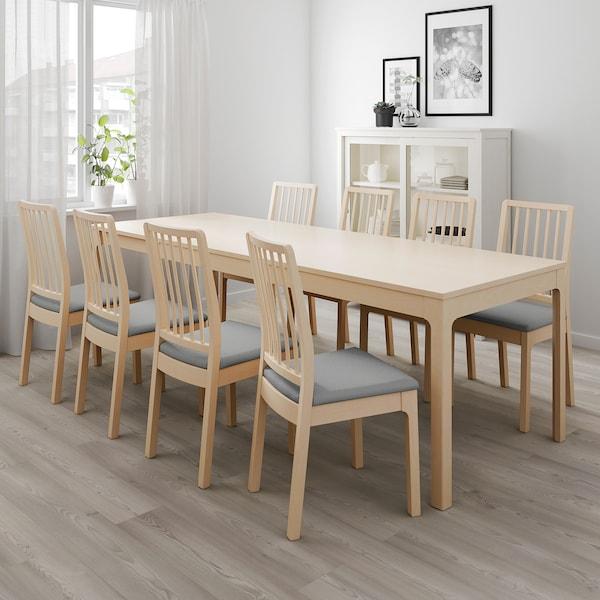 Ekedalen Extendable Table Birch Ikea