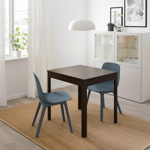 Ekedalen Extendable Table Dark Brown Ikea