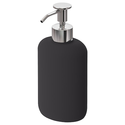 EKOLN soap dispenser dark grey 18 cm 300 ml