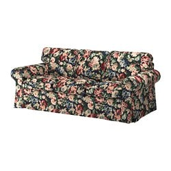 EKTORP cover three-seat sofa, Lingbo multicolour