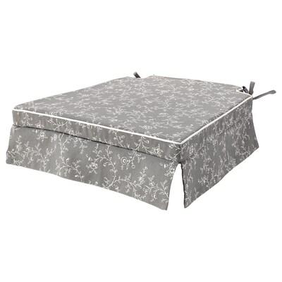 ELSEBET Chair pad, grey, 43x42x4.0 cm