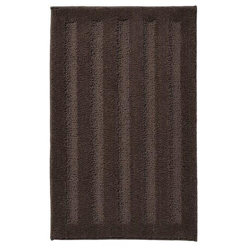EMTEN bath mat dark brown 60 cm 40 cm 0.24 m²