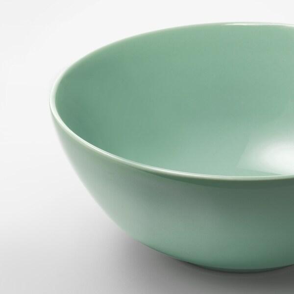 FÄRGRIK Bowl, light green, 16 cm
