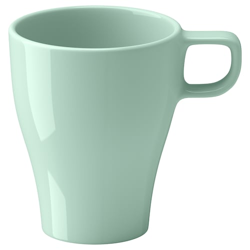 FÄRGRIK mug light green 11 cm 25 cl