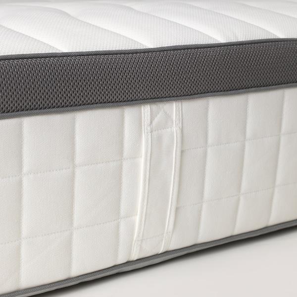 FILLAN Pocket sprung mattress, firm/white, 150x200 cm