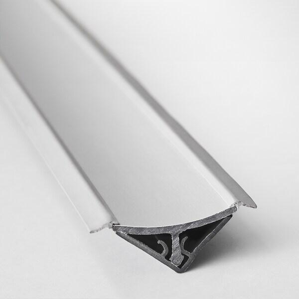 FIXA wall finishing strip grey 250 cm 2.5 cm 2.5 cm