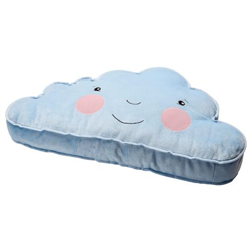 FJÄDERMOLN cushion light blue 59 cm 34 cm 205 g 310 g