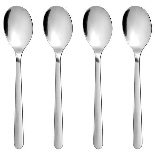 FÖRNUFT spoon stainless steel 19 cm 4 pieces