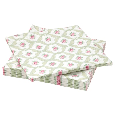 FÖRVÄNTAD paper napkin flower 33 cm 33 cm 30 pieces
