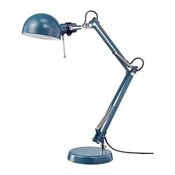 FORSÅ work lamp, blue