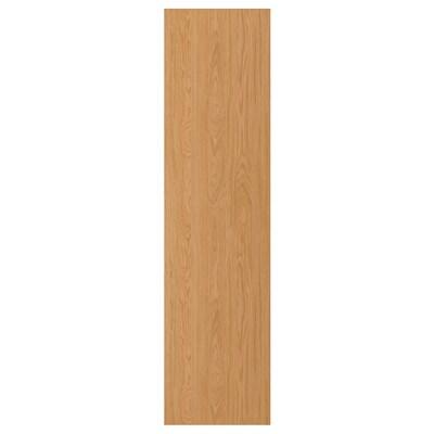 FORSAND Door, oak effect, 50x195 cm