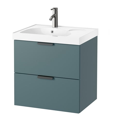 godmorgon edeboviken washstand with 2 drawers ikea 10 year guarantee read about