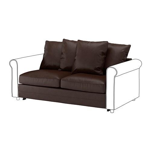 Wondrous Gronlid 2 Seat Sofa Bed Section Kimstad Dark Brown Inzonedesignstudio Interior Chair Design Inzonedesignstudiocom