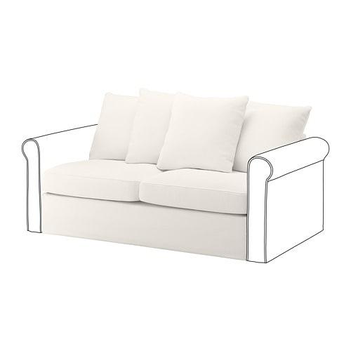 Terrific Gronlid 2 Seat Sofa Bed Section Inseros White Inzonedesignstudio Interior Chair Design Inzonedesignstudiocom
