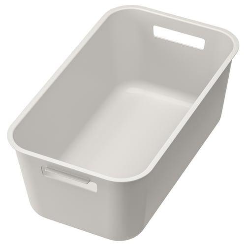 GRUNDVATTNET washing-up bowl grey 39 cm 23 cm 16 cm