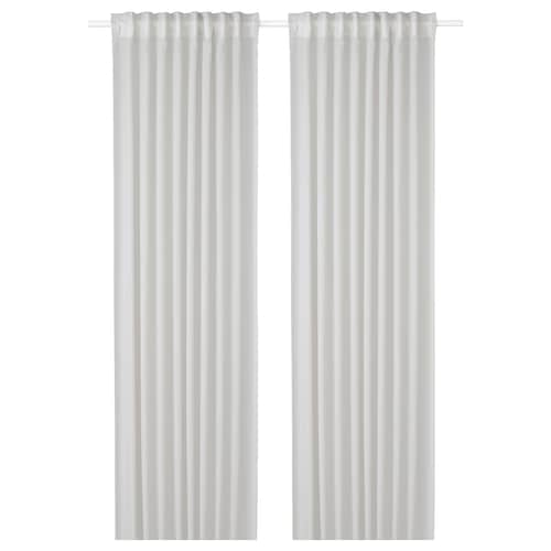 GUNRID air purifying curtain, 1 pair light grey 250 cm 145 cm 0.92 kg 3.63 m² 2 pieces