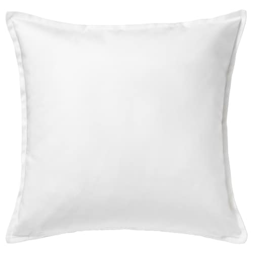 GURLI cushion cover white 50 cm 50 cm