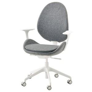 Colour: Gunnared medium grey/white.