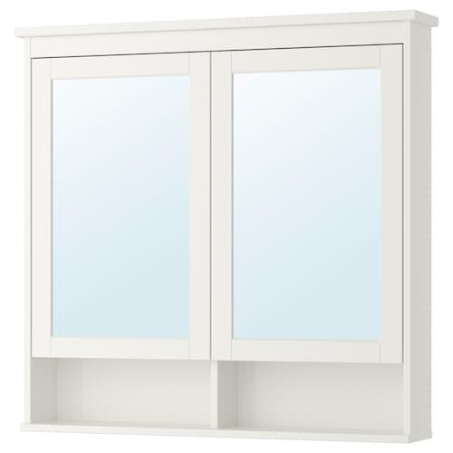 IKEA HEMNES Mirror cabinet with 2 doors