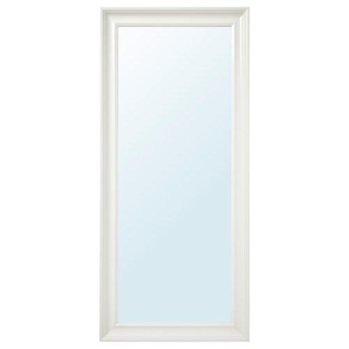 HEMNES mirror white 74 cm 165 cm