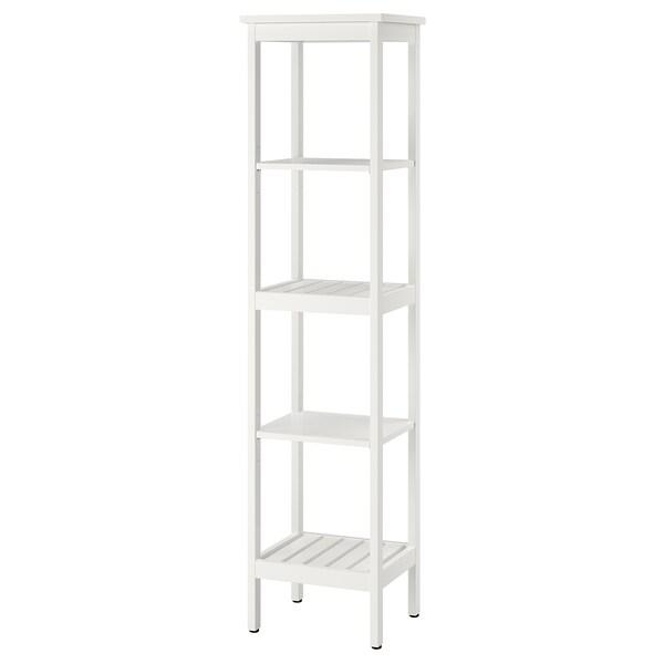 HEMNES Shelving unit, white, 42x172 cm