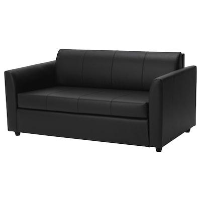 HOLARNA Two-seat sofa-bed, Bomstad black