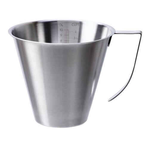 IDEALISK jug graduated/stainless steel 13.5 cm 1 l