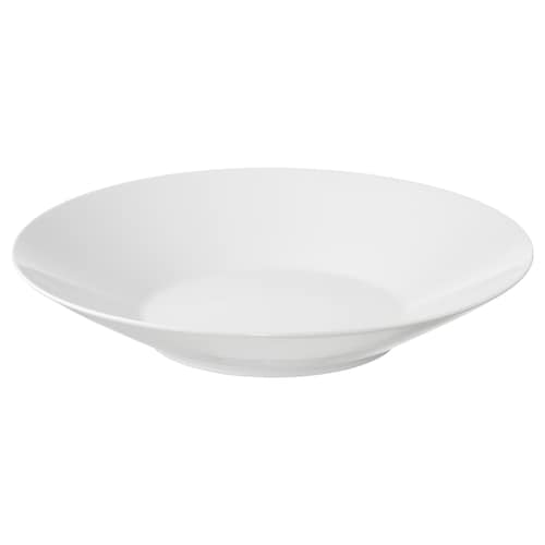 IKEA 365+ bowl angled sides white 6 cm 34 cm