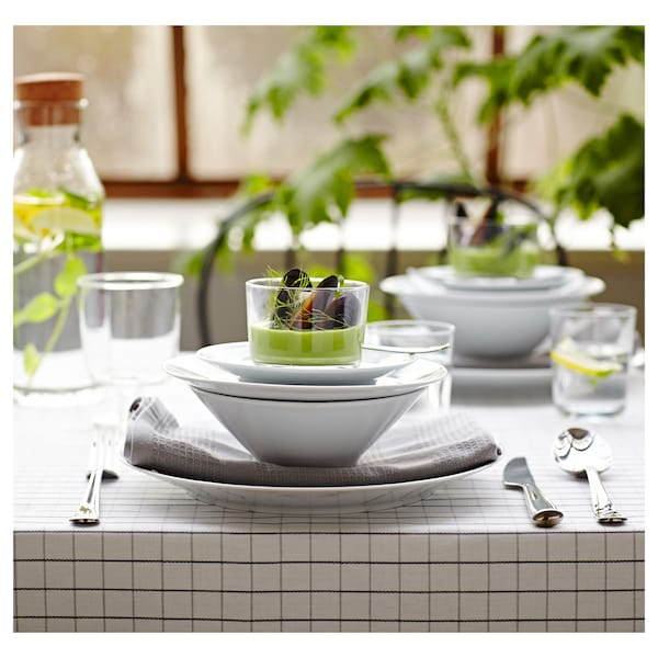 IKEA 365+ plate white 15 cm