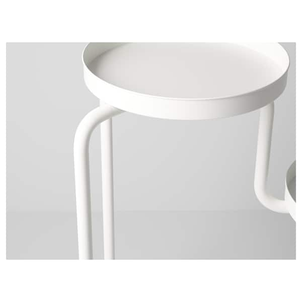 IKEA PS 2014 Plant stand, in/outdoor/white, 53 cm