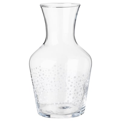 INBJUDEN Carafe, clear glass, 1.0 l